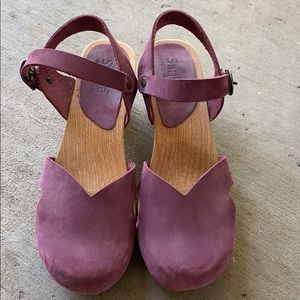 Sanita Danish Clogs US size 8 Eur 38
